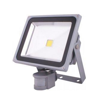 Лед Рефлектор Sensor Silver Shell
