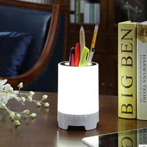 Лед Лампа Звучник Bluetooth Во Боја