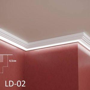XPS Профил За Скриено Светло LD02