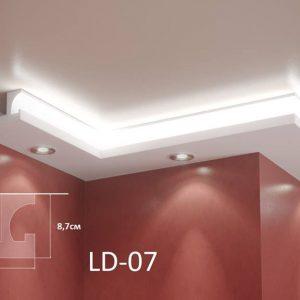 XPS Профил За Скриено Светло LD07