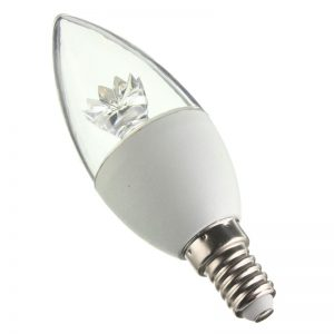 Лед Свеќа Selena E14 6W Crown DIMMABLE